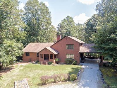 Powhatan Single Family Home For Sale: 1526 Mill Quarter Road