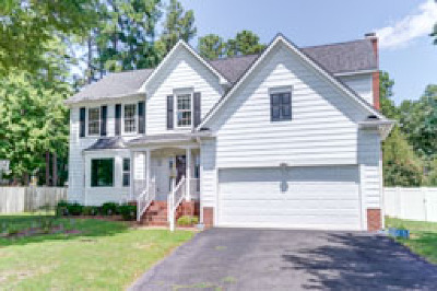 Henrico Single Family Home For Sale: 8408 Hasting Mill Lane