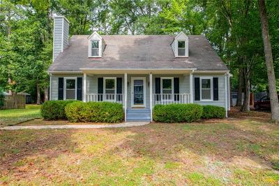Mechanicsville Single Family Home For Sale: 10205 Guenevere Court