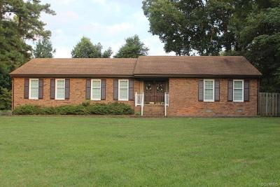 Mechanicsville Single Family Home For Sale: 8126 S Mayfield Lane