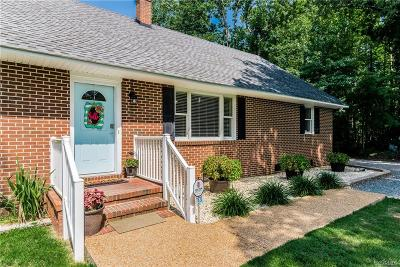 New Kent Single Family Home For Sale: 7820 N Courthouse Road