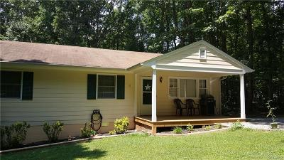 Powhatan County Rental For Rent: 2153 Mountain View Road