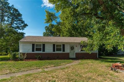Henrico Single Family Home For Sale: 1801 Bandera Drive