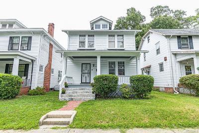Single Family Home For Sale: 3417 Florida Avenue