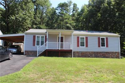 Dinwiddie Rental For Rent: 16031 Tri Gate Road