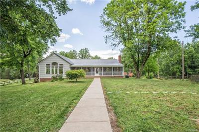 Single Family Home For Sale: 1327 Deep Run Road