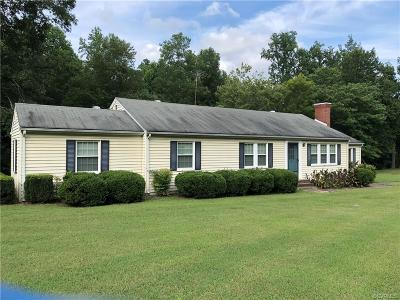 Brunswick County Single Family Home For Sale: 32528 Christanna Highway