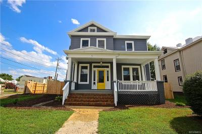 Richmond Single Family Home For Sale: 5 W Graham Road