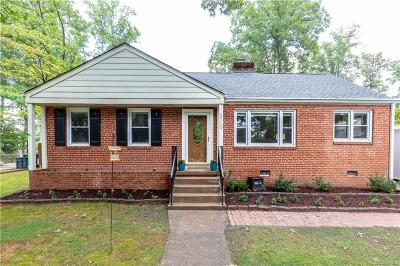 Henrico Single Family Home For Sale: 8710 Wytheland Road