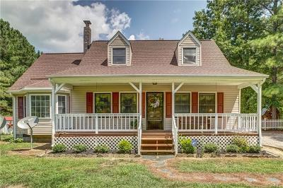 Dinwiddie County Single Family Home For Sale: 10405 Courthouse Road