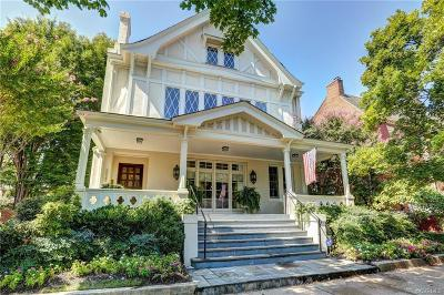 Richmond Single Family Home For Sale: 2023 Monument Avenue