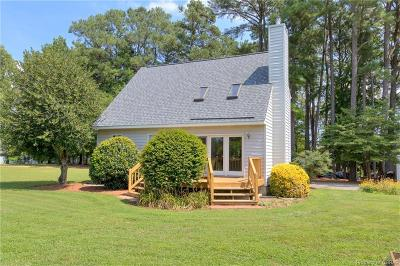 Heathsville Single Family Home For Sale: 283 Harveys Neck Road