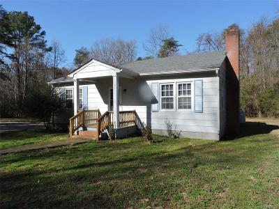 Powhatan County Rental For Rent: 3811 Old Buckingham Road