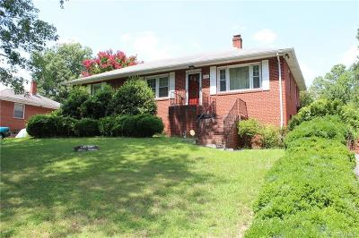 Henrico Single Family Home For Sale: 1806 Barrington Road