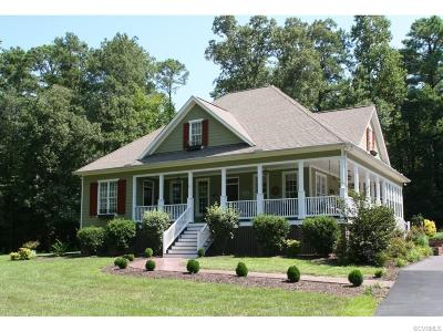 Hanover County Single Family Home For Sale: 12570 Greenwood Road