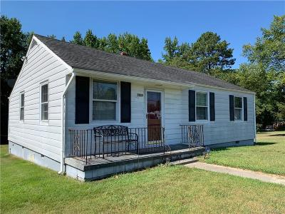 Single Family Home For Sale: 7511 Hickory Road