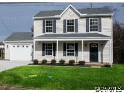Richmond Single Family Home For Sale: 4160 Terminal Avenue
