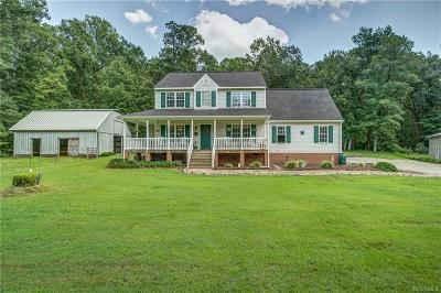 Dinwiddie County Single Family Home For Sale: 26640 Fort Fisher Court
