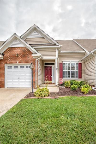 Midlothian Condo/Townhouse For Sale: 1703 Rose Mill Circle