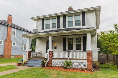 Richmond Single Family Home For Sale: 2705 Northumberland Avenue