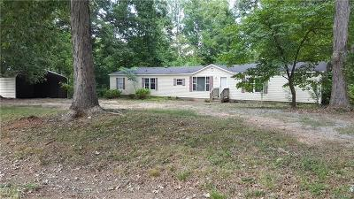 Powhatan Single Family Home For Sale: 2318 Mosby Road