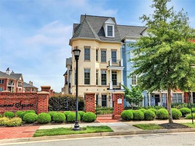 Richmond Condo/Townhouse For Sale: 1219 Byrd Avenue #46