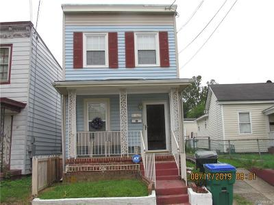 Richmond Single Family Home For Sale: 22 W Clopton Street