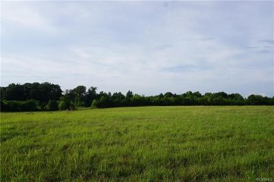 Amelia County Land For Sale: 8.168 Acres Genito Road