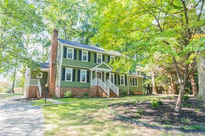 Richmond Single Family Home For Sale: 3122 Bicknell Road