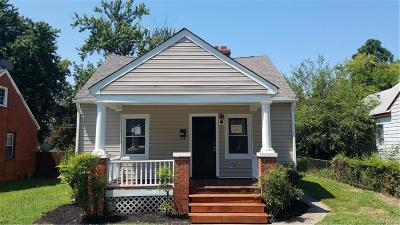 Richmond Single Family Home For Sale: 1313 Chambers Street