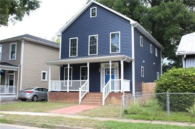 Richmond Single Family Home For Sale: 3113 Woodcliff Avenue