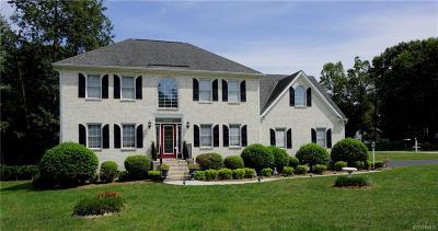 South Chesterfield Single Family Home For Sale: 15201 Majestic Creek Drive