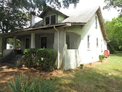 Richmond Single Family Home For Sale: 3621 Cottrell Road