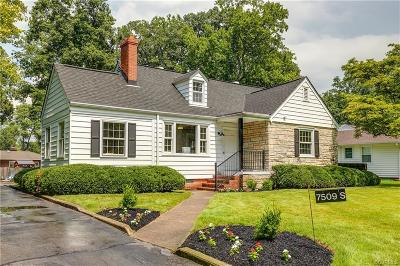 Henrico County Single Family Home For Sale: 7509 S Pinehill Drive