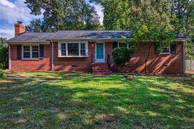 Richmond Single Family Home For Sale: 2510 Driftwood Road