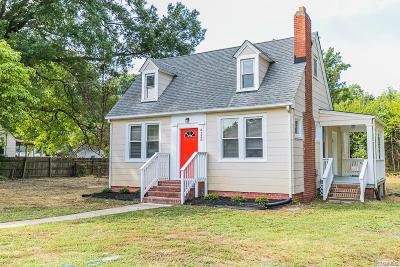 Richmond Single Family Home For Sale: 4120 Walmsley Boulevard