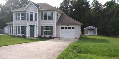 Chesterfield County Rental For Rent: 4012 Twisted Oak Drive