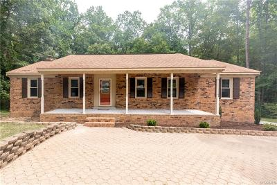 Single Family Home For Sale: 9521 Trails End Road