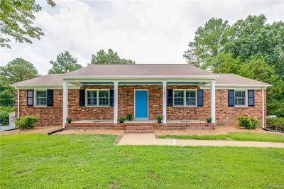 Chesterfield County Single Family Home For Sale: 3981 Falstone Road