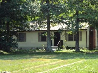 King William Single Family Home For Sale: 239 Etna Mills Road