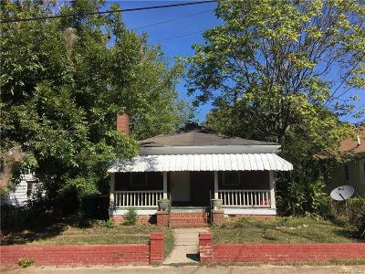 Petersburg Single Family Home For Sale: 15 Mars Street