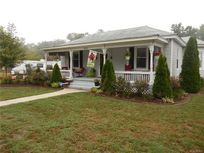 Single Family Home For Sale: 10100 Hickory Road