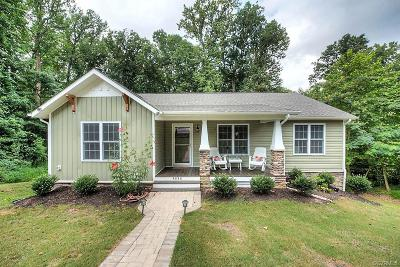 Richmond Single Family Home For Sale: 5232 Bemiss Road