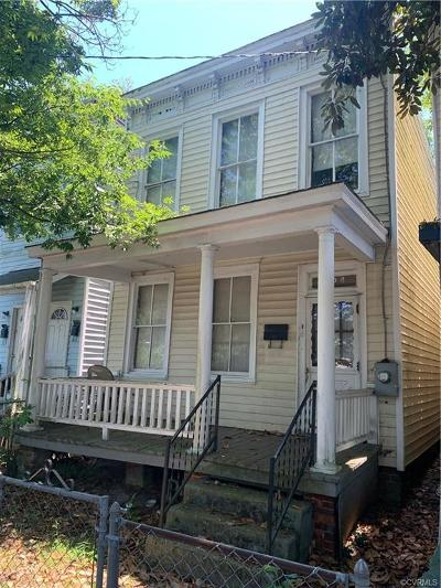 Richmond Single Family Home For Sale: 1209 N 22nd Street