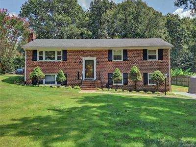 Chesterfield Single Family Home For Sale: 10401 Hollyberry Drive