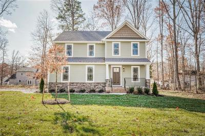 Single Family Home For Sale: 9807 Adkins Village Lane