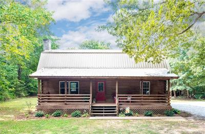 Single Family Home For Sale: 6600 Amelia Springs Road