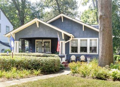 Richmond Single Family Home For Sale: 4412 Forest Hill Avenue