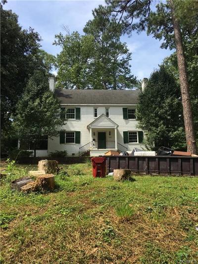 Single Family Home For Sale: 1720 Powhatan Avenue