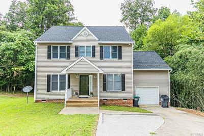 Mechanicsville Single Family Home For Sale: 7412 Cindy Court